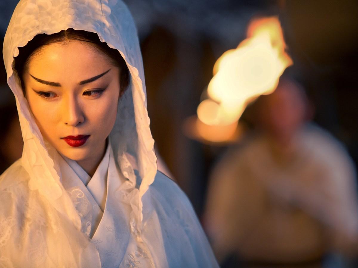 Chinese actress Jiang Yiyan vamps it up in Sword Master 3D. Photo courtesy of Bona Film Group