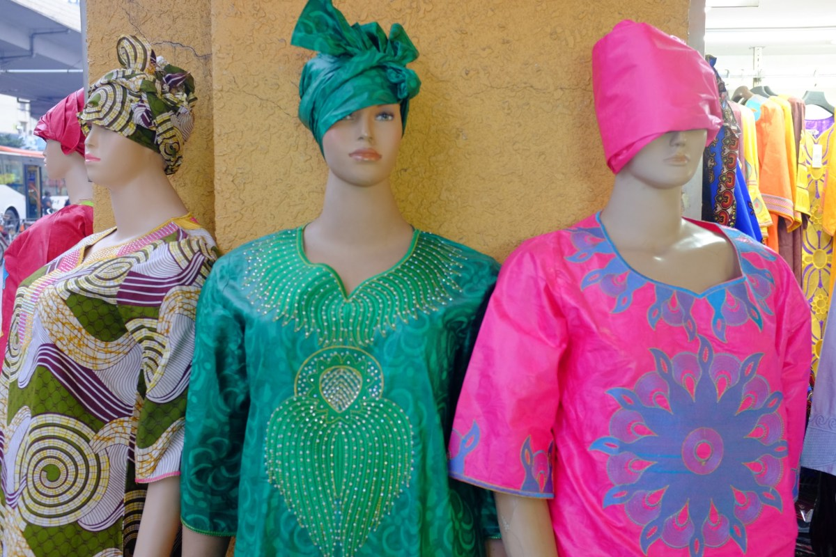 African fashions in the Pearl River Delta. Photo: Justus Krueger