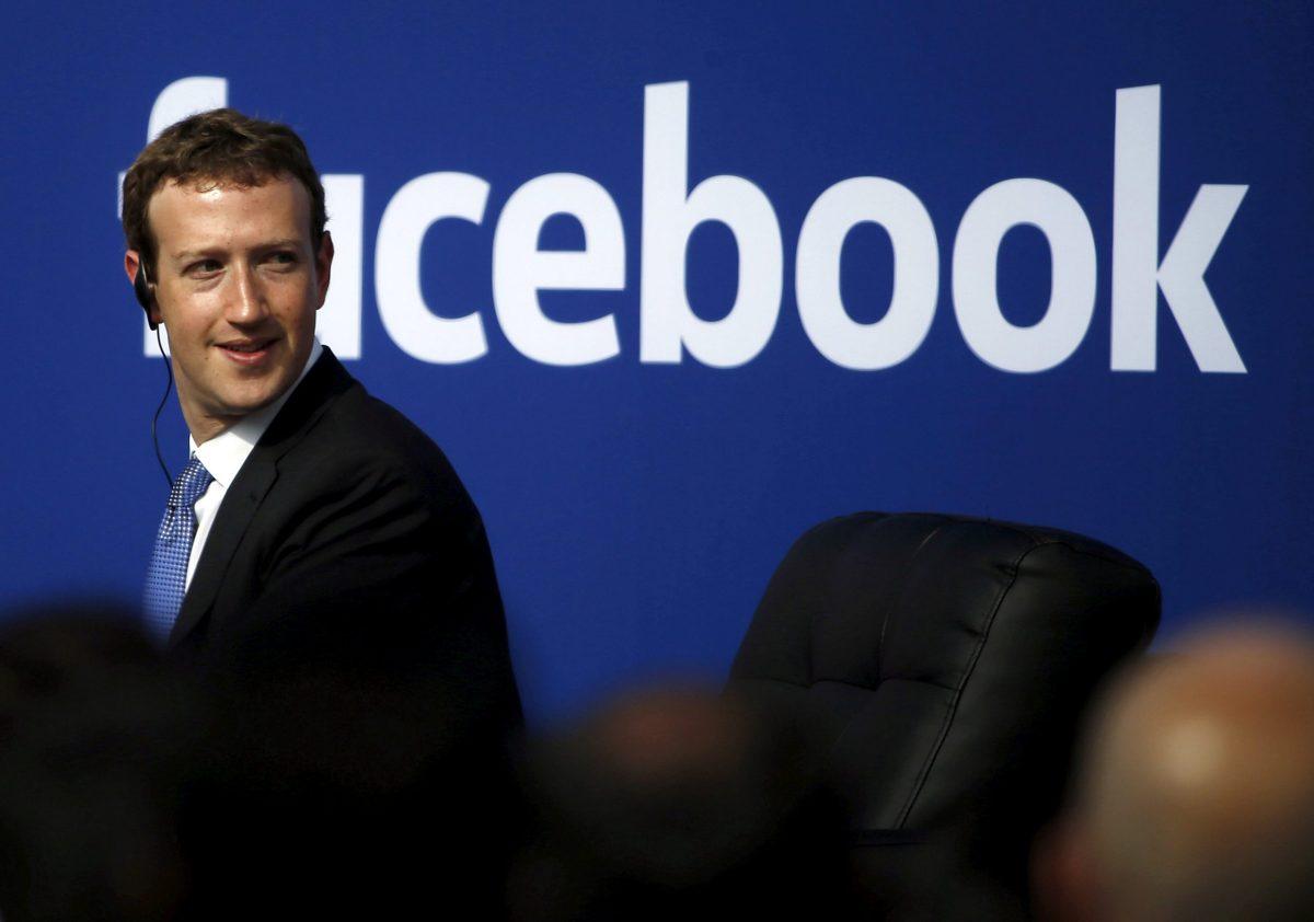 Facebook CEO Mark Zuckerberg in Menlo Park, California. Photo:  Reuters/Stephen Lam