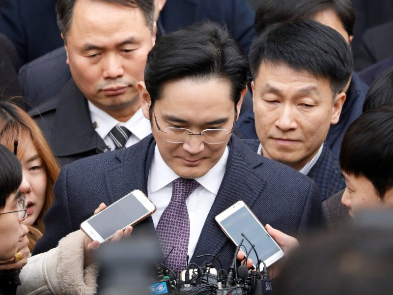Same old song: Samsung Group's Jay Y. Lee leaves a Seoul court hearing. Public outrage at the latest scandal involving the country's chaebol may finally force real reforms... or not. Photo: Reuters