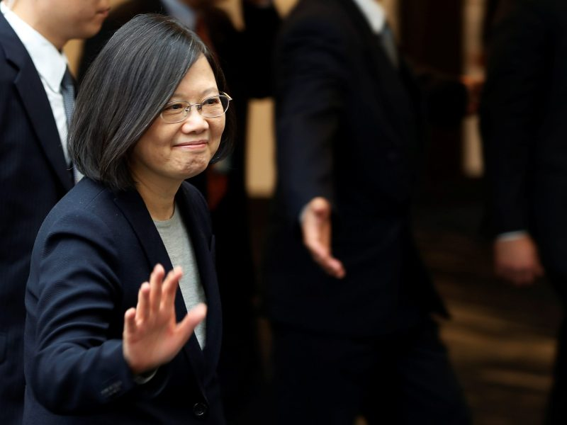 Taiwan President Tsai Ing-wen may face greater security threats than her predecessors. Photo: Reuters/Stephen Lam