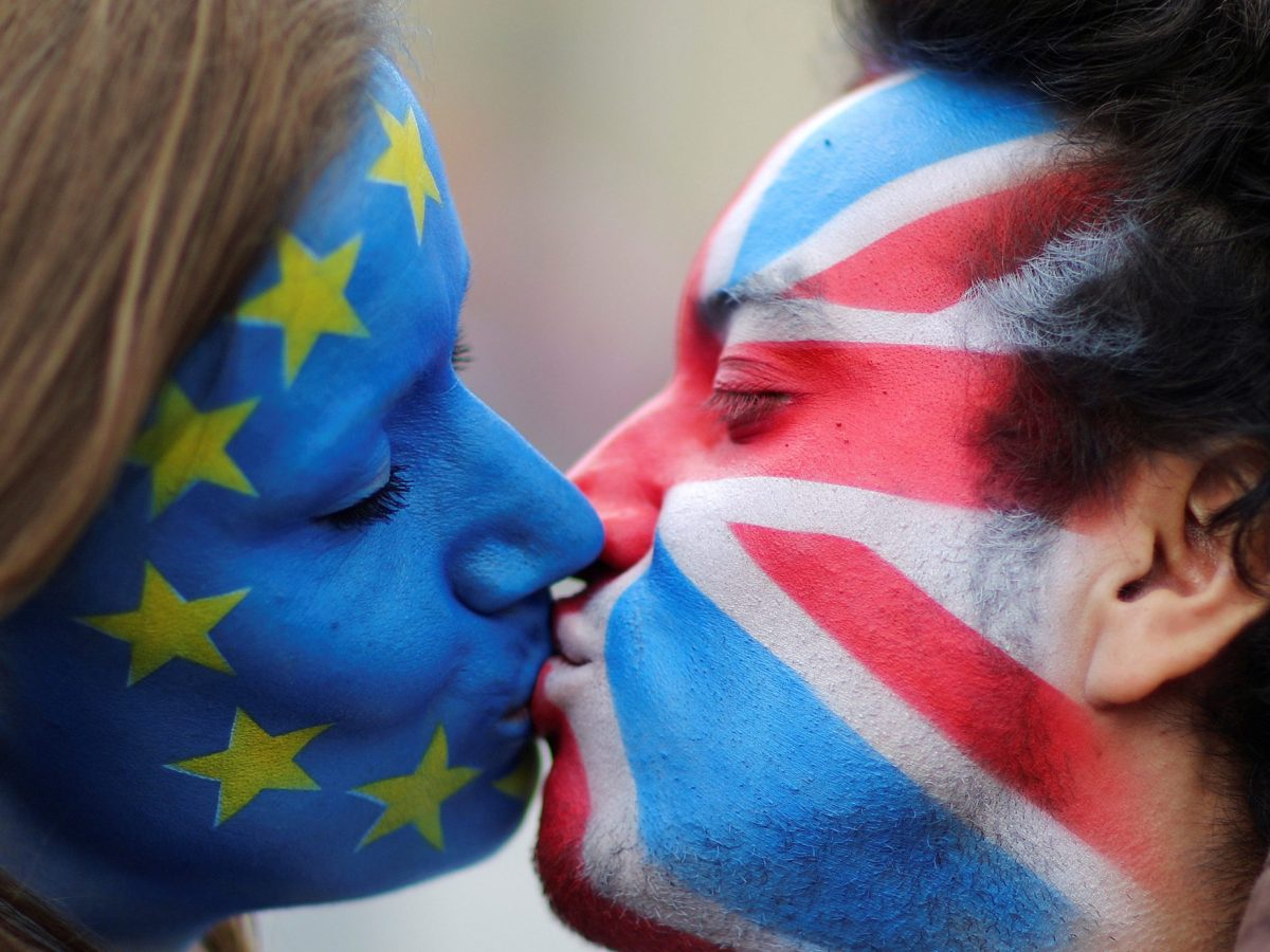 Why can't they just kiss and make up? Photo: Reuters
