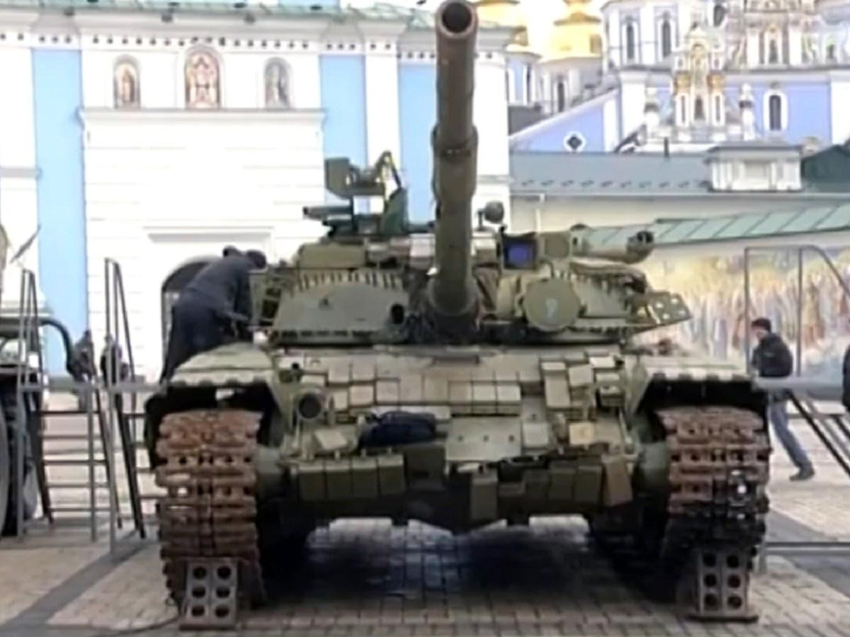 A Russian tank in Ukraine. Photo: Wikimedia Commons