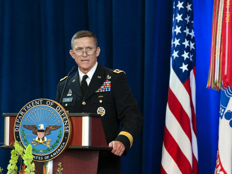 US Army Lieutenant General Michael Flynn.  DoD photo by Erin A. Kirk-Cuomo.