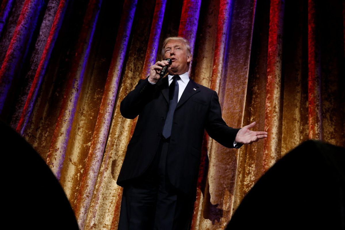A Donald Trump presidency beckons more risk, Verisk Maplecroft predicts. Photo: Reuters
