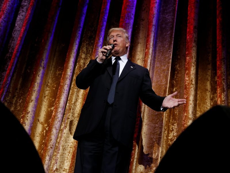 A Donald Trump presidency beckons more risk, Verisk Maplecroft predicts. Photo: Reuters