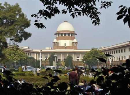 The Supreme Court building in New Delhi. Photo: Reuters/B Mathur