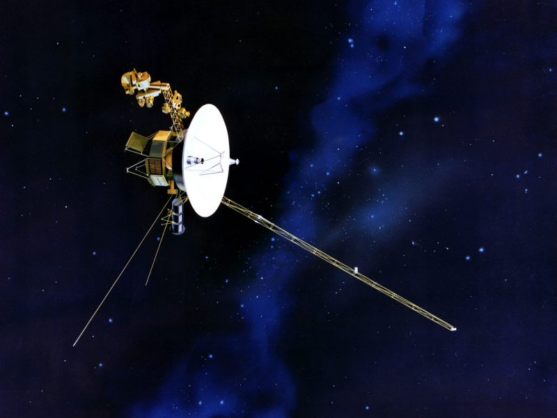 Voyager space probes are further from Earth than any human-made object ever built. Photo: Wikimedia Commons