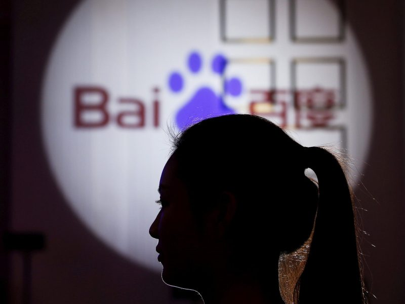 Baidu rolled out strong second-quarter numbers. Photo: Reuters / Aly Song