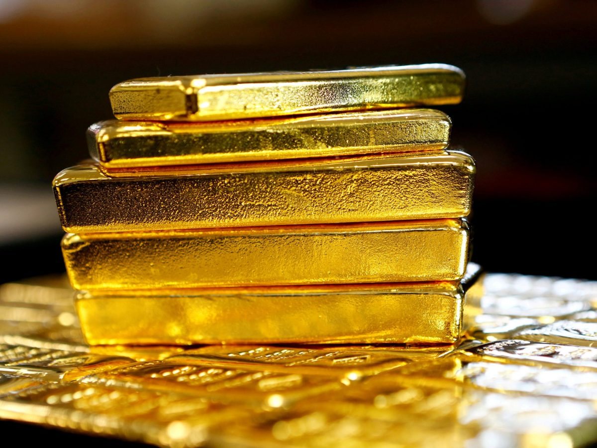 Gold stocks best performers in S&P, February 28, 2017.  Photo: Reuters, Leonhard Foeger