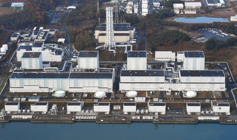 Safe distance? Tepco's Fukushima nuclear plant is experiencing a spike in radiation levels. Photo:: Kyodo via Reuters