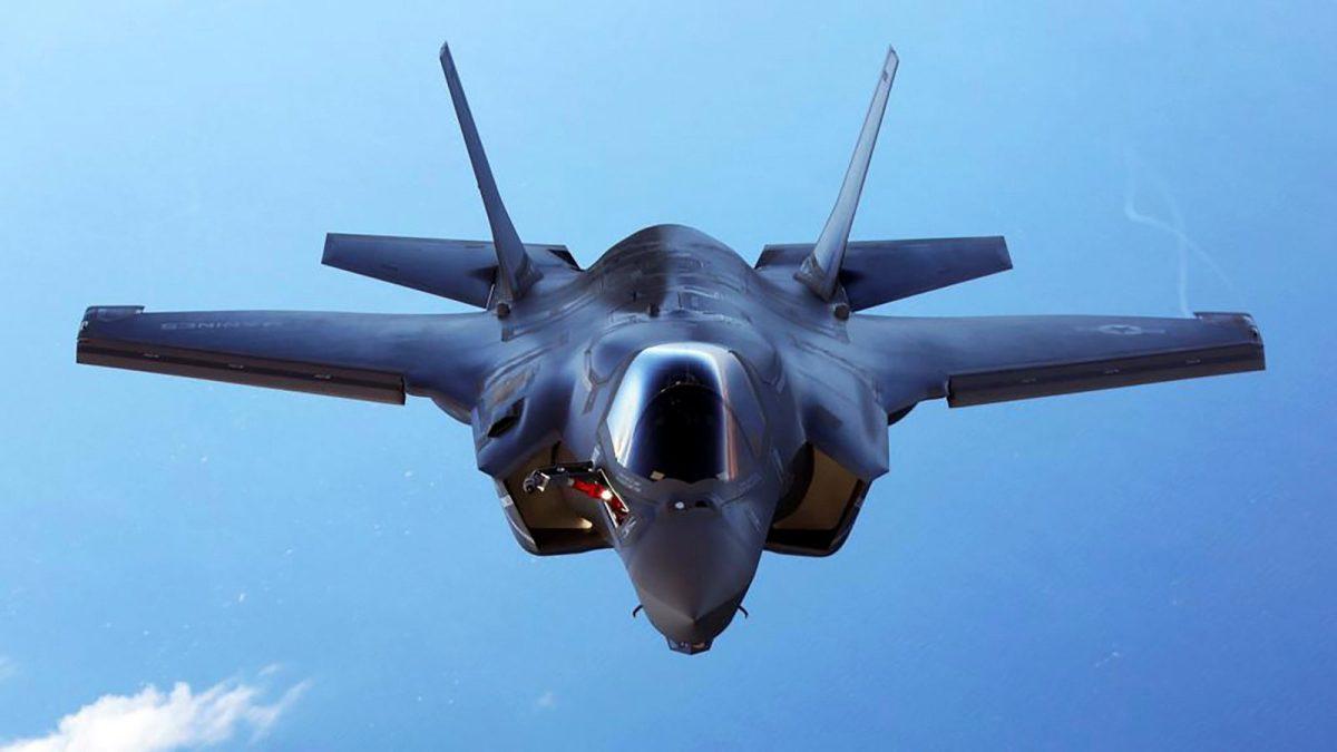 F-35. Photo: US Marine Corps via Reuters