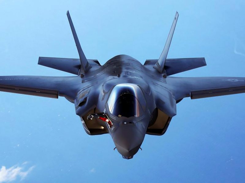 F-35. Photo: US Marine Corps via Reuters