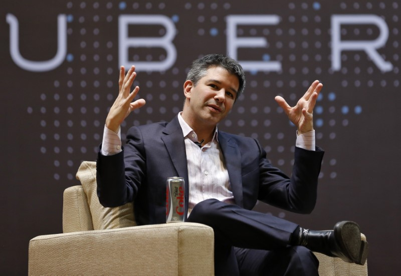 Uber CEO Travis Kalanick has bowed to the pressure. Photo: Reuters/Danish Siddiqui