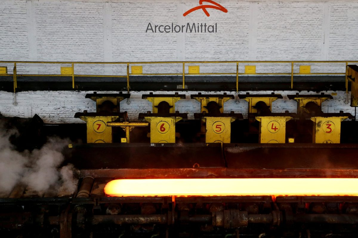 ArcelorMittal's steel plant in Ghent, Belgium:  Reuters