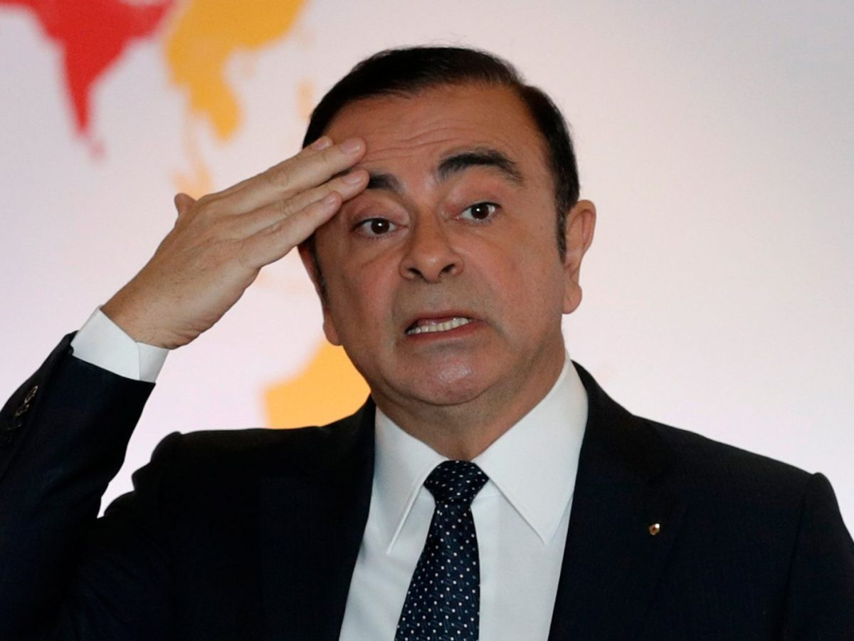 Former Nissan chief Carlos Ghosn plans to vigorously defend himself in court, his son says. Photo:. Reuters/Philippe Wojazer