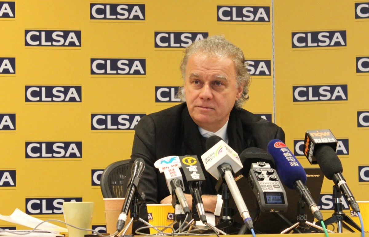 CLSA's chief equity strategist Christopher Wood. Photo: Asia Times