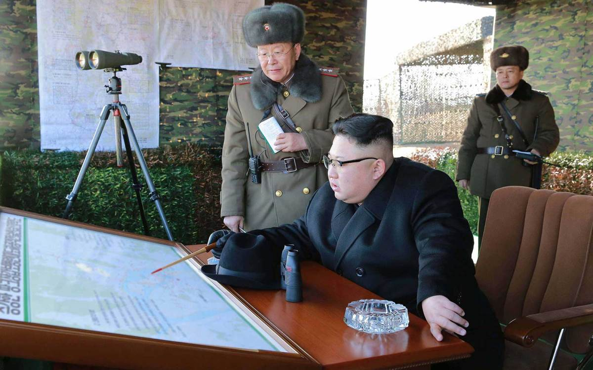 North Korean leader Kim Jong-un. Photo: AFP/ KCNA via KNS