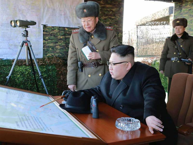 North Korean leader Kim Jong-un. Photo: AFP/ KCNA via KNS