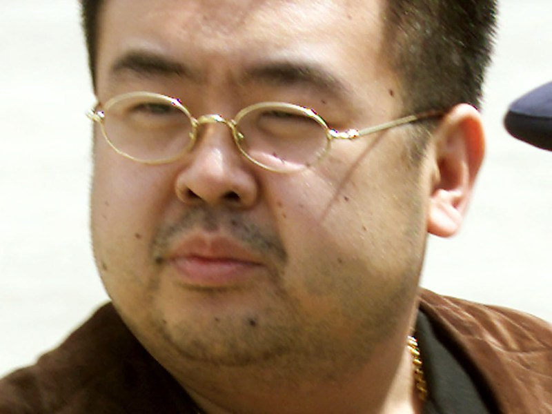 Kim Jong-nam seen here when he was deported from Japan in 2001. He spent many years in Macau, fearful of an assassination attempt. He was proved correct. Photo: Reuters