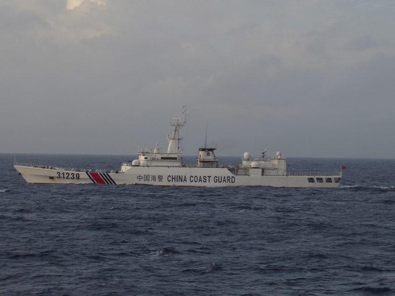 The Chinese Coast Guard regularly patrols the disputed waters off the Senkakus, or Diaoyou islands. Photo: Reuters