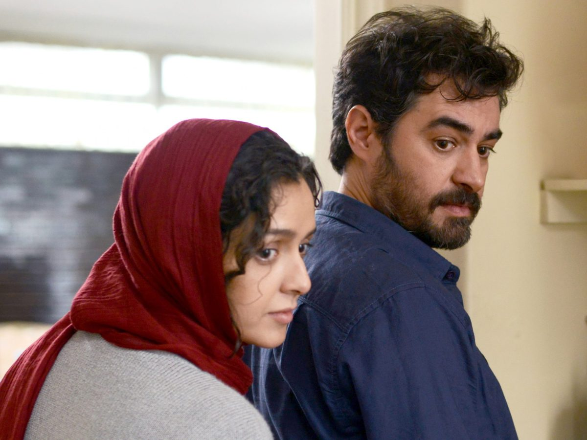 Taraneh Alidoosti (L) Shahab Hosseini (R) in The Salesman, a film by Asghar Farhadi. Photo Cohen Media Group