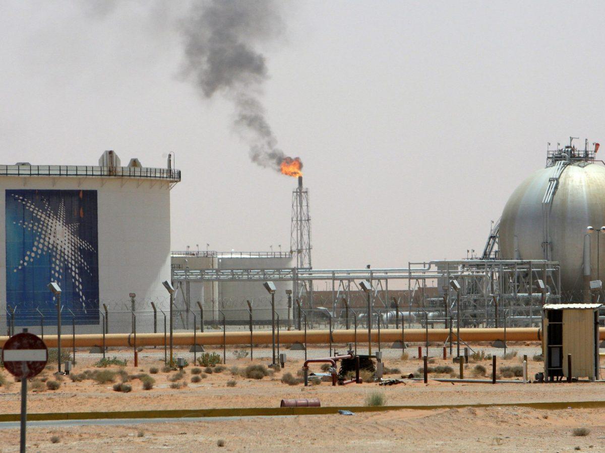 Aramco's Khurais oilfield in Saudi Arabia, 160 km from Riyadh. Photo: Ali Jarekji/Reuters