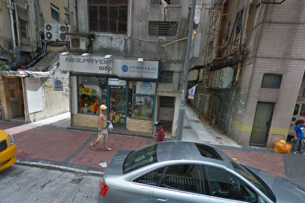 Chi Wo Street, Yau Ma Tei, Kowloon Photo: Google Map