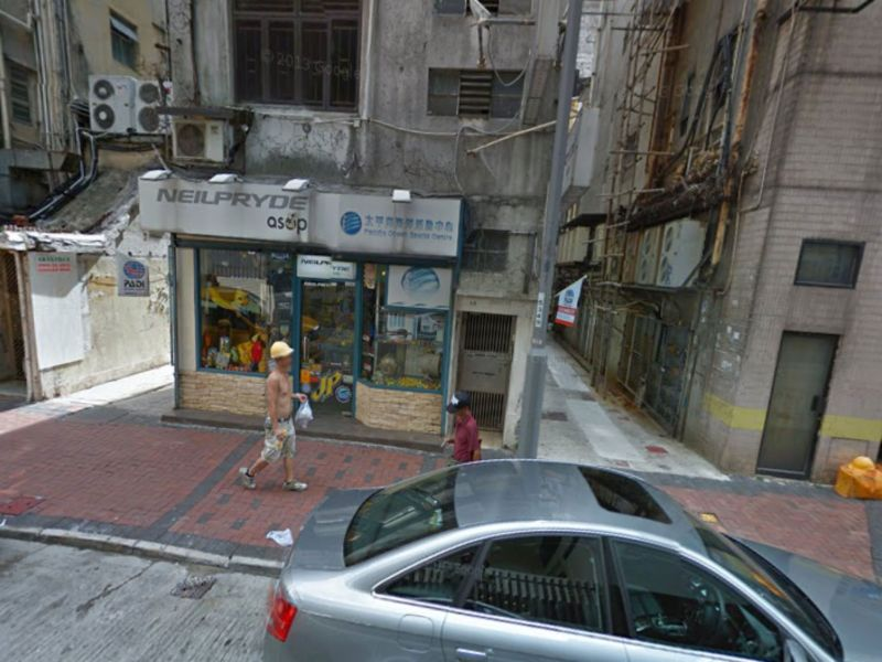 Chi Wo Street, Yau Ma Tei, Kowloon Photo: Google Map