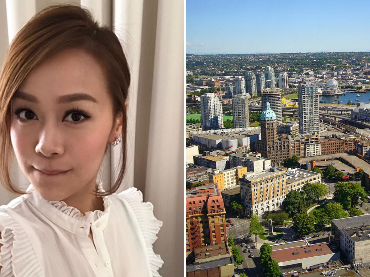 Jacqueline Wong, a popular TV star in Hong Kong, could only buy an apartment in Vancouver with her sister's help. Photo: Facebook / Jacqueline Wong