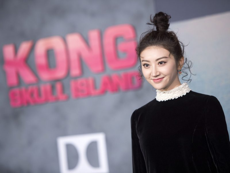 "Actress Tian Jing attends the Los Angeles premiere of Warner Bros ""Kong: Skull Island"" on March 8, 2017. Photo: Agence France-Presse."