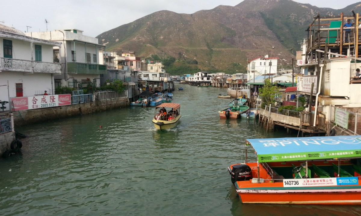 The couple are indigenous inhabitants of the Tai O fishing village. Photo: Asia Times