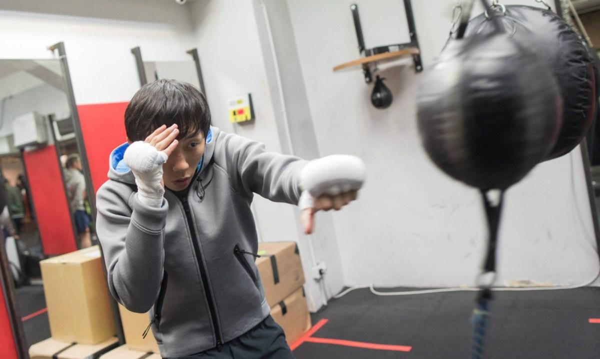 Hong Kong boxer Rex Tso is well-prepared for the coming match with Japan's Hirofumi Mukai on Saturday. Photo: Facebook /John Tsang