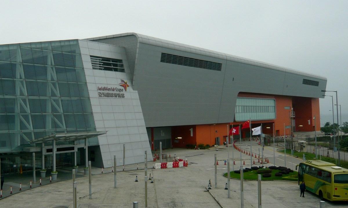 AsiaWorld-Expo, Chek Lap Kok island Photo: Wikimedia Commons