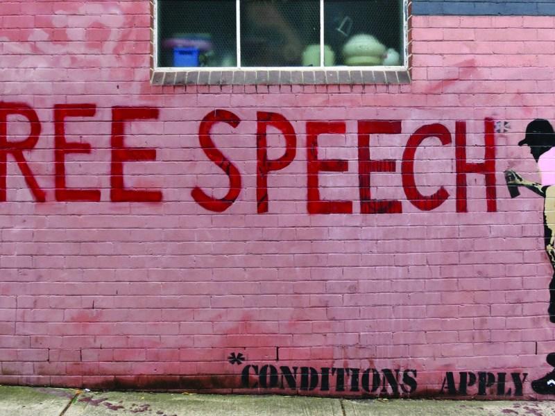 Graffiti in Sydney. Photo: wiredforlego via Flickr