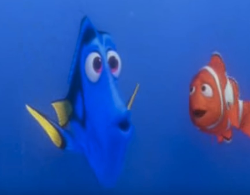 Give mothers a break because they may have lapses like Dory. Photo: YouTube