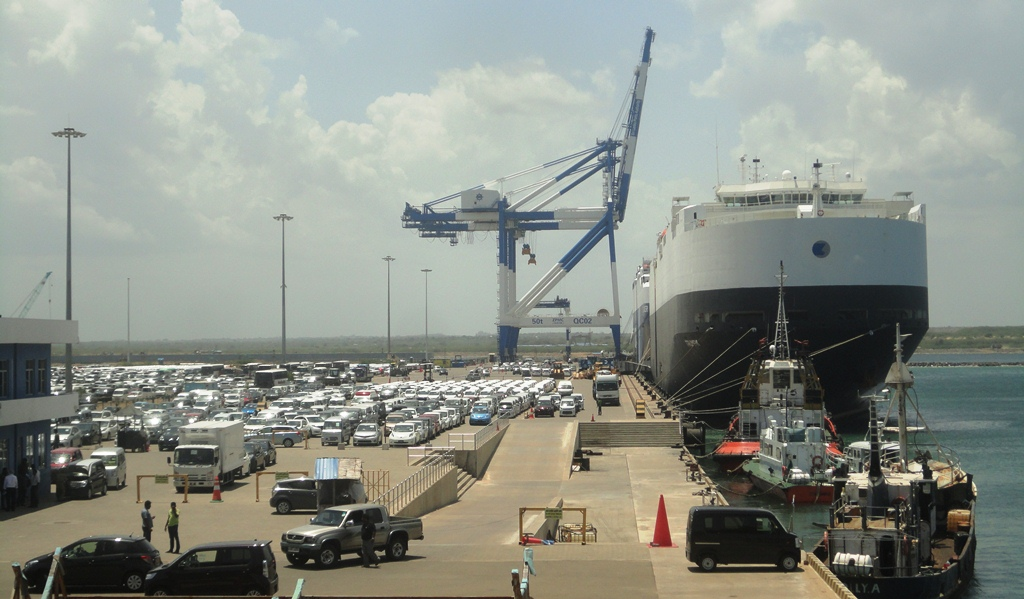 Hambantota port in Sri Lanka has been taken over by China for 99 years. Photo: Wikimedia Commons