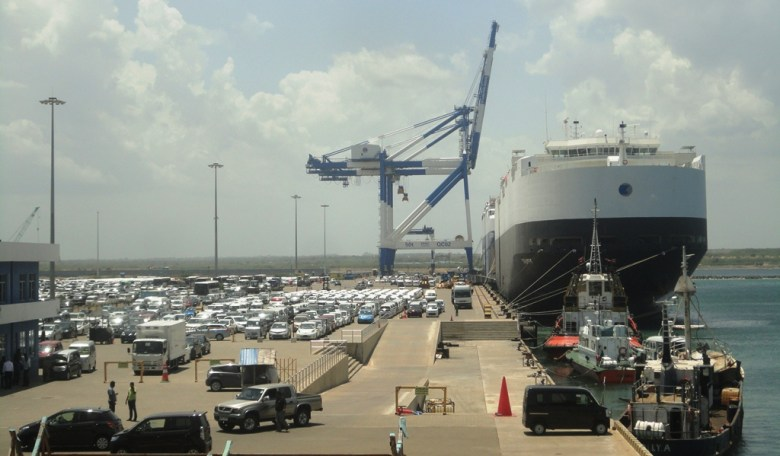 Hambantota port in Sri Lanka has been taken over by China for 99 years. Photo: Wikimedia Commons