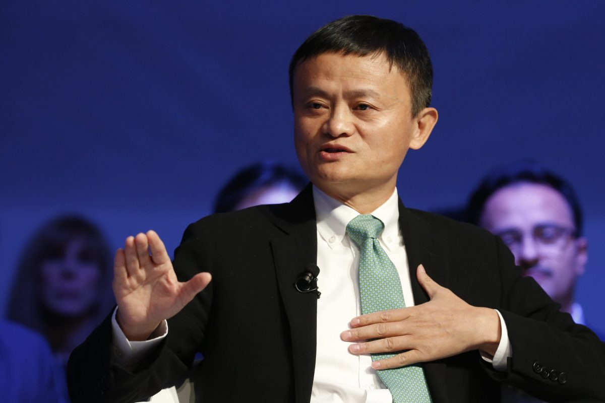 Alibaba executive chairman Jack Ma. Photo: Reuters/Ruben Sprich