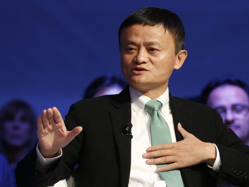 Alibaba executive chairman Jack Ma. Photo: Reuters/Ruben Sprich