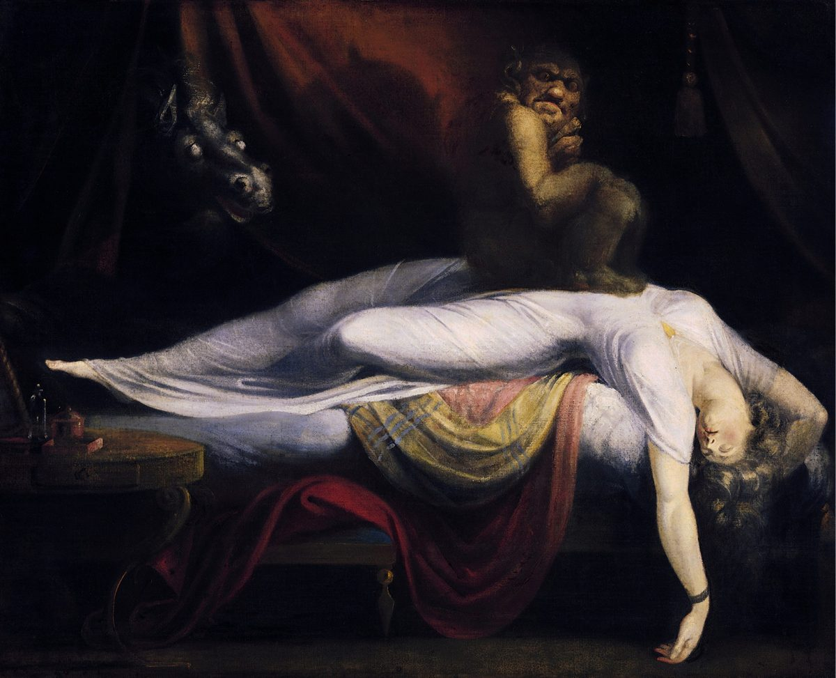 John Henry Fuseli's The Nightmare. Photo: Wikimedia Commons