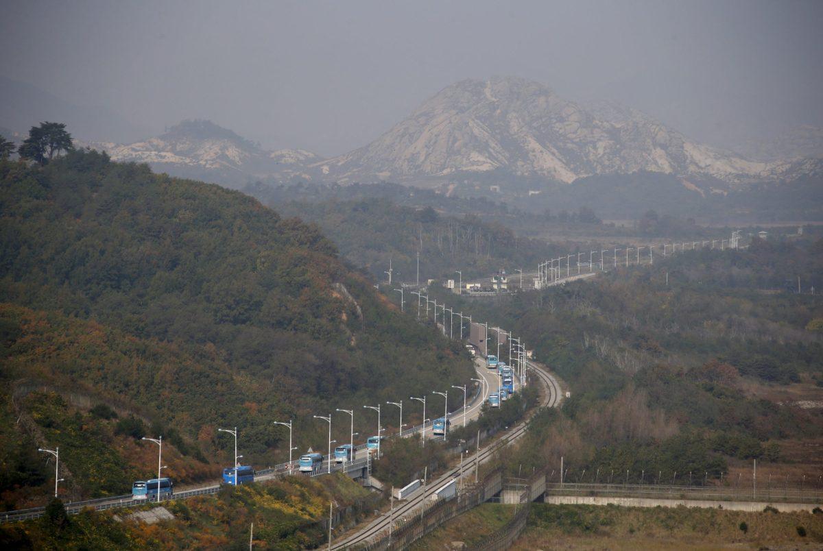 Korea's Mount Kumgang resort, pictured here, is seeking investors for a gambling cruise ship. Photo: Reuters, Kim Hong-Ji