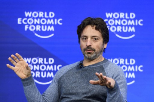Google co-founder Sergey Brin. Photo: AFP, Fabrice Coffrini