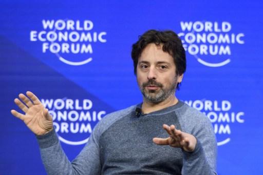Google co-founder Sergey Brin. Photo: AFP, Fabrice Coffrini