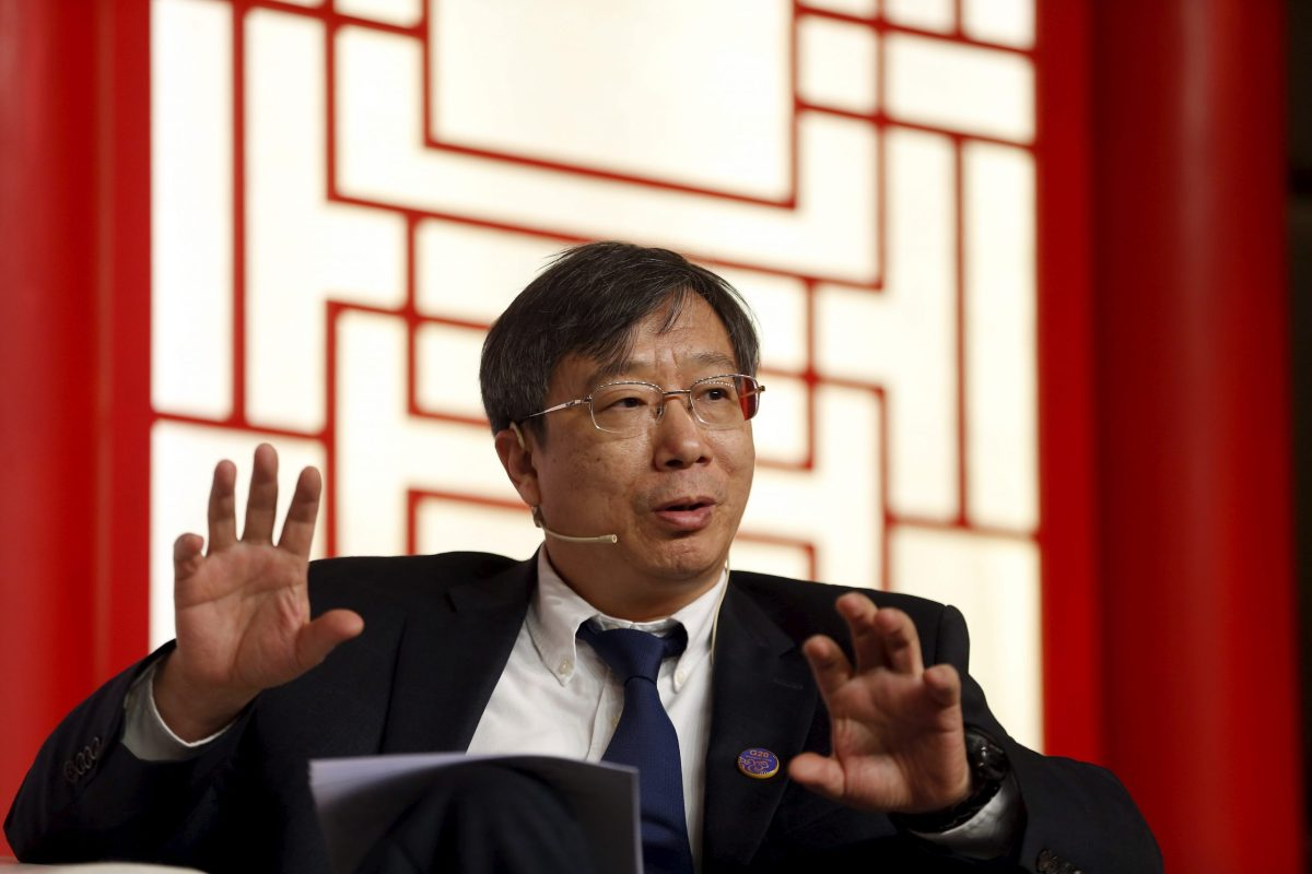 People's Bank of China Deputy Governor Yi Gang. Photo: Reuters, Aly Song