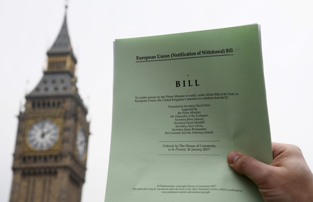 Bill and Ben: the unelected House of Lords may seem an unlikely defender of the common folk. Photo: Reuters