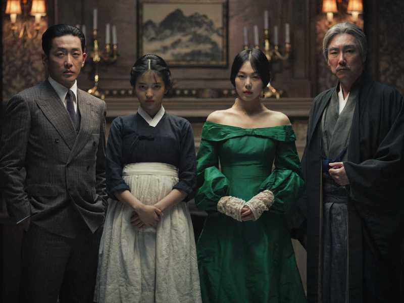 A still from the Korean movie The Handmaiden. Photo: Handouts