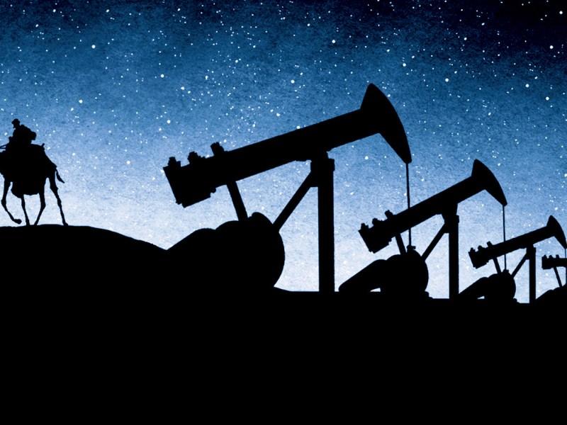 sand oil economy