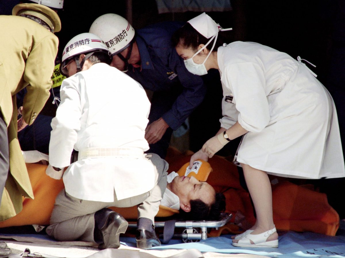 The deadly 1995 Sarin gas attack on a Tokyo commuter train used a nerve agent similar to the one suspected of killing Kim Jong-nam. Photo: AFP