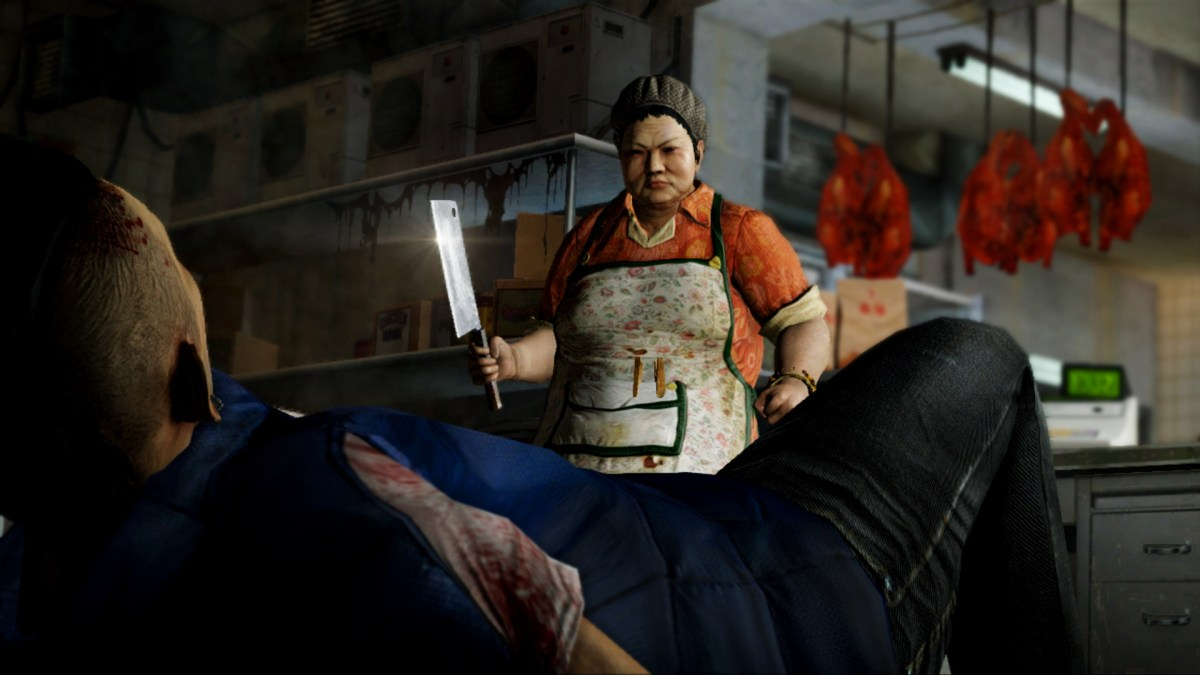 His goose is roasted: Sleeping Dogs is seeped with classic Hong Kong  memes. Photo: Steampowered.com